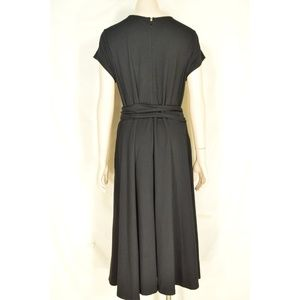 eshakti Dresses - eShakti Custom dress SZ XL black heavy knit low cu